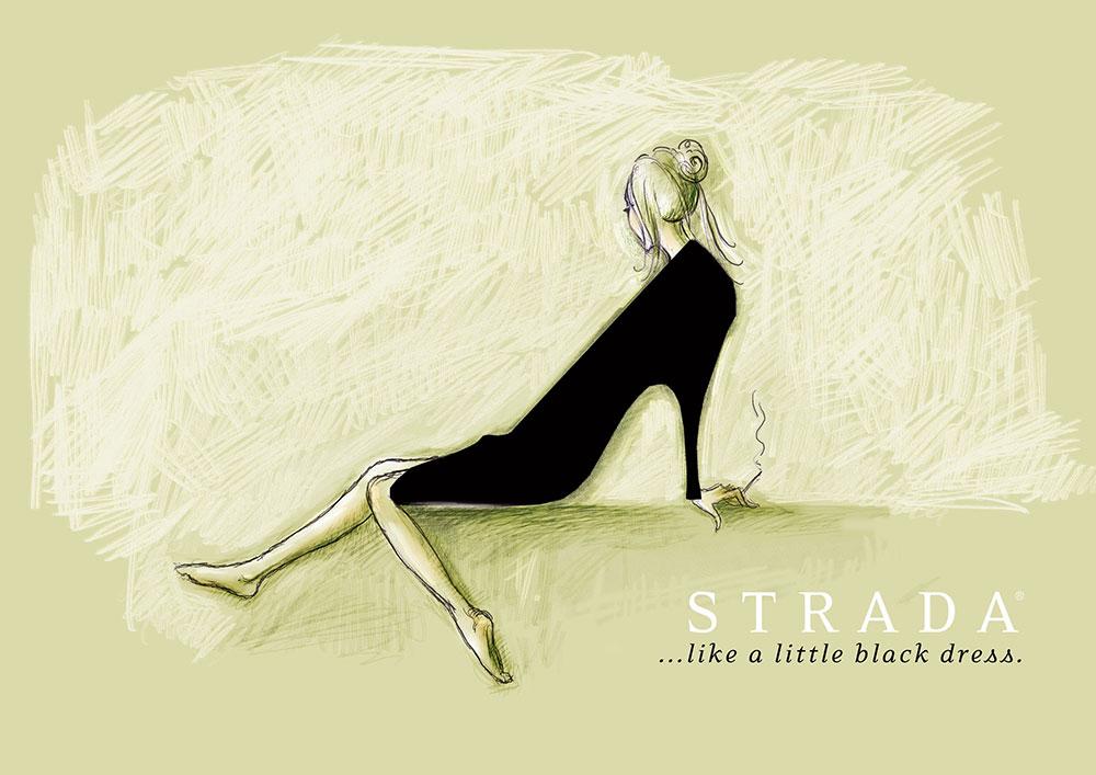 Mala crna haljina, dizajn: Slaviša Savić