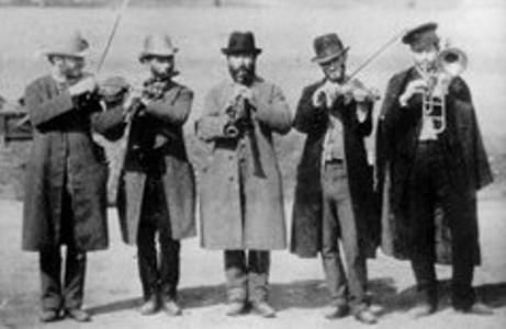 Klezmorim, 1910.