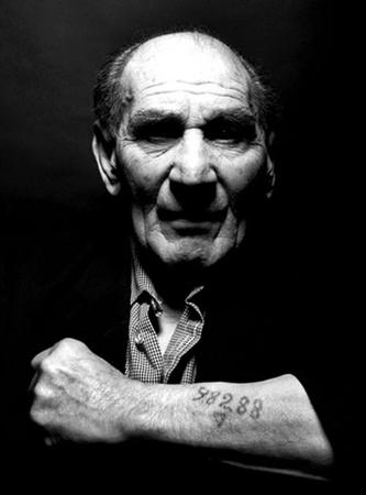 Auschwitz survivor and anti-fascist Leon Greenman 1910-2008