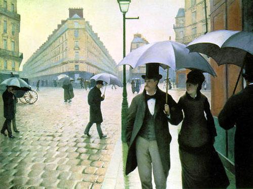 Gustav Caillebotte, La Place de L`Europe, temps de pluie