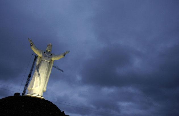 Poljski Isus, foto: Kacper Pempel/Reuters