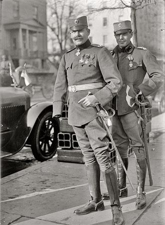 Predstavnici Kraljevine Jugoslavije u Vašingtonu, 1918.