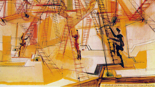 Constant, Lavirint pokretnih stepenica (1967), foto: lola.mcdowell/Flickr
