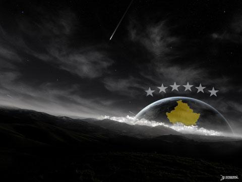 Kosova, Wallpaper by Neossonnic