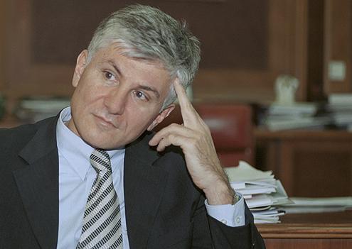 Zoran Đinđić, premijer Srbije.12.8.2002. foto: Goranka Matić
