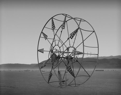 Star Wheel, Burning Man 2004.