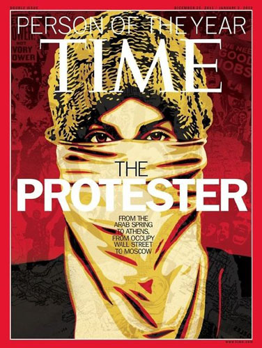 Time magazine person of the year 2011
