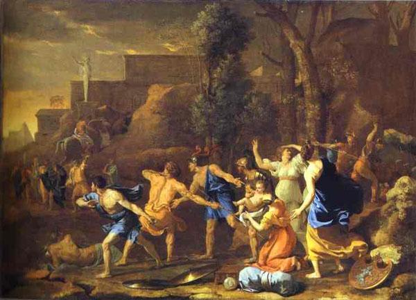 Rescue of Pyrrhus, Nicolas Poussin