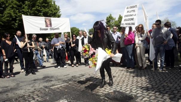Protest udovica u Bolonji