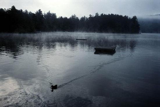 Alex Webb/Magnum Photos, Early morning on Squam Lake, New Hampshire, 2000