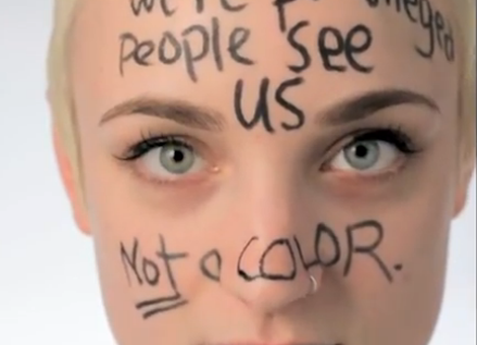 Anti-white-skin privilege campaign