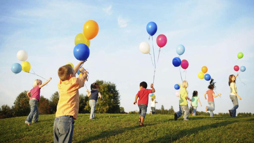 deca se igraju balonima