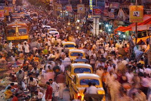 Indija prometni kaos