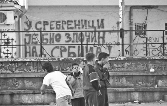 Severna Mitrovica, novembar 2012, foto: Tijana Mirković