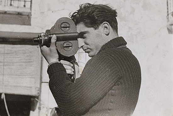 Robert Capa, May 1937, photo by Gerda Taro, Wikimedia Commons