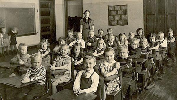 učionica 1910.