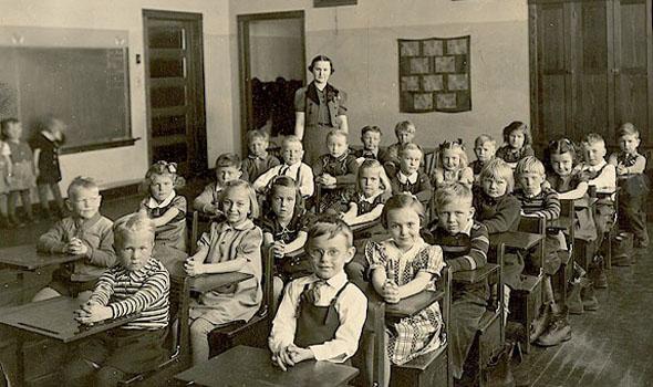 učionica, 1910.