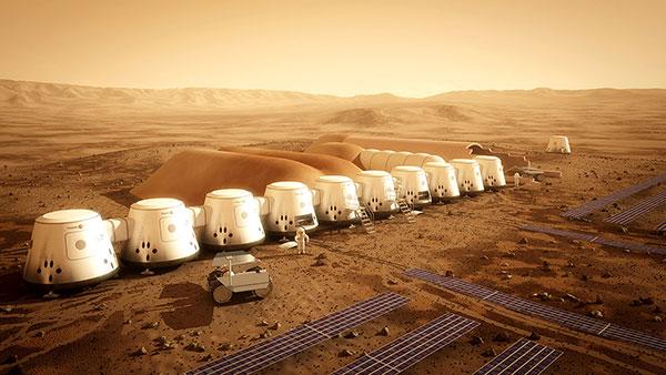 Ljudska naseobina na Marsu