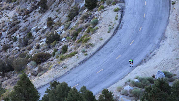 The Badwater Ultramaraton, Dolina smrti, AFP/David Mcnew