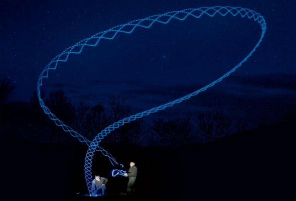 Michael Murphree, LED boomerang