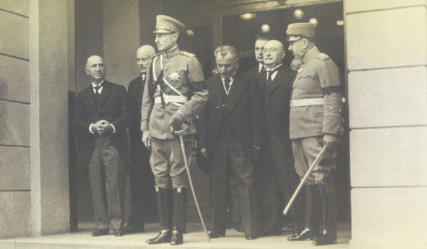 Radenko Stanković, knez Pavle Karađorđević i Ivo Perović