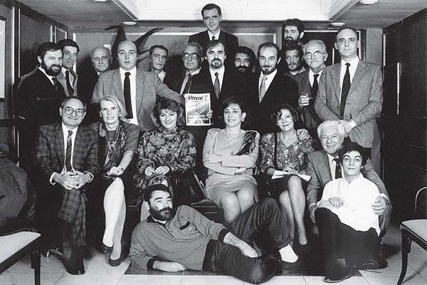 Foto: Goranka Matić, prvi broj Vremena 29.10.1990.