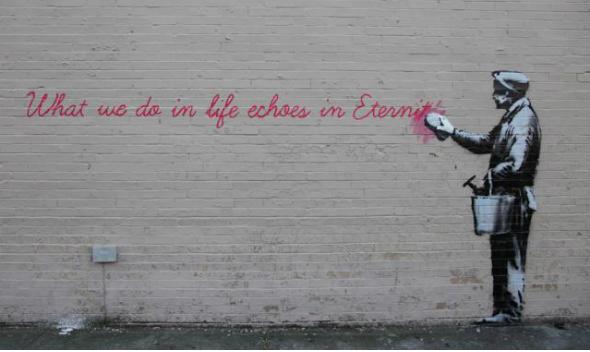 Banksy NYC, 14.10.2013.
