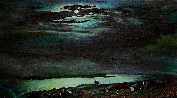 Archip Iwanowitsch Kuindshi, Moonlit Night on the Dniepr