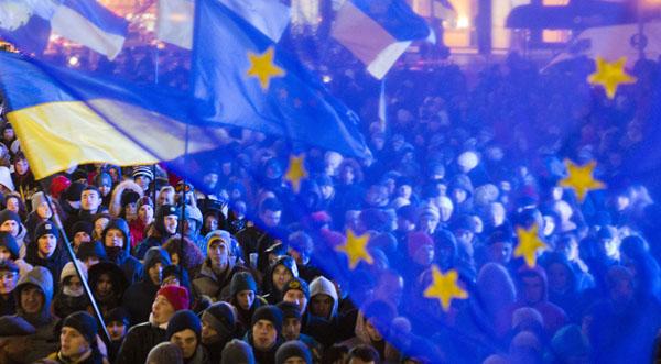 Euromaidan, foto: Evgeny Feldman http://bit.ly/1fhySHz