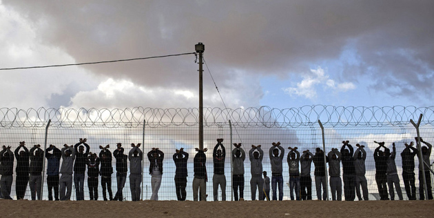 Holot detention center for African asylum seekers