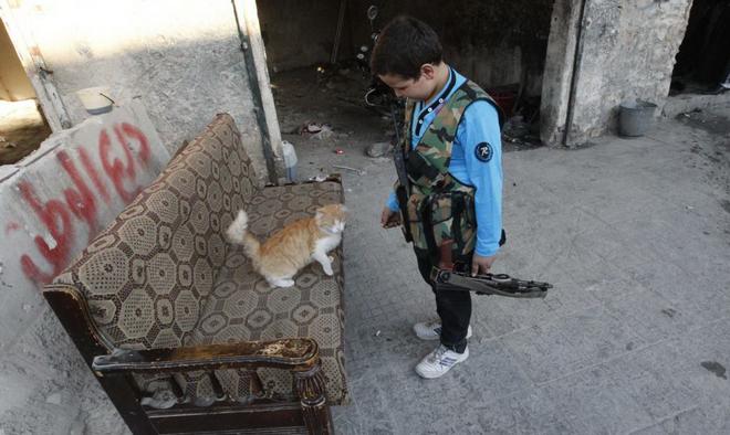 Sirija, Reuters/Muzaffar Salman