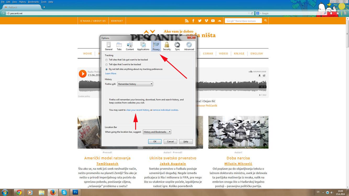 Slika 2 Firefox