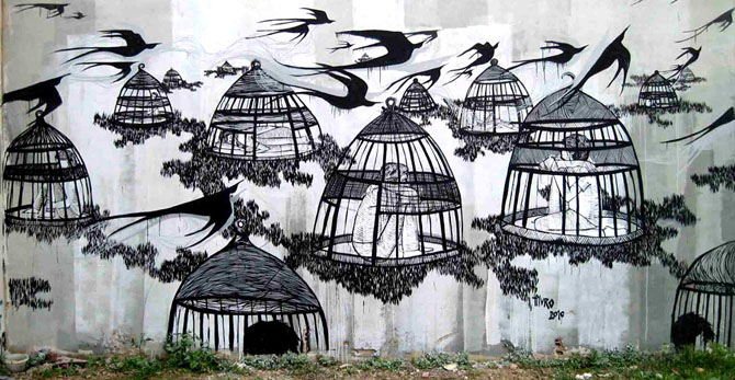 Street Art by Hyuro http://bit.ly/UyZcE8