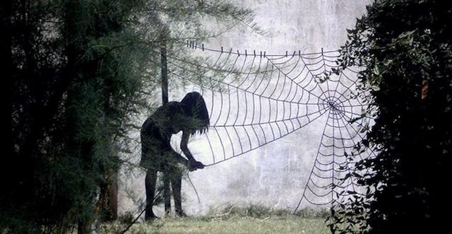 Street art by Pejac http://bit.ly/1iBo4jL