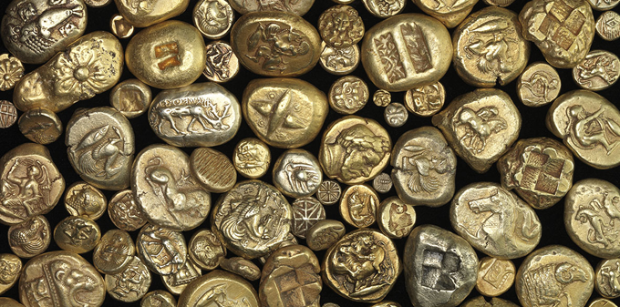 Electrum Coins from the Israel Museum