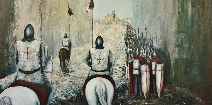 Kaye Miller-Dewing, Siege of Ascalon http://bit.ly/1my8xpT