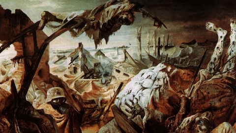 Otto Dix, Trench Warfare bit.ly/1rAS5Gy