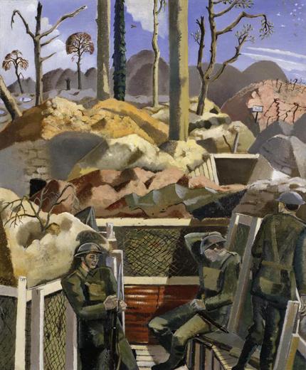Paul Nash, 'Existence', 1917 http://bit.ly/TCaZAf