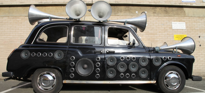 Yuri Suzuki, Sound Taxi http://bit.ly/1xfB4nW