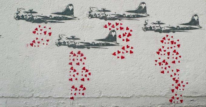 Banksy http://bit.ly/1v0sWpQ