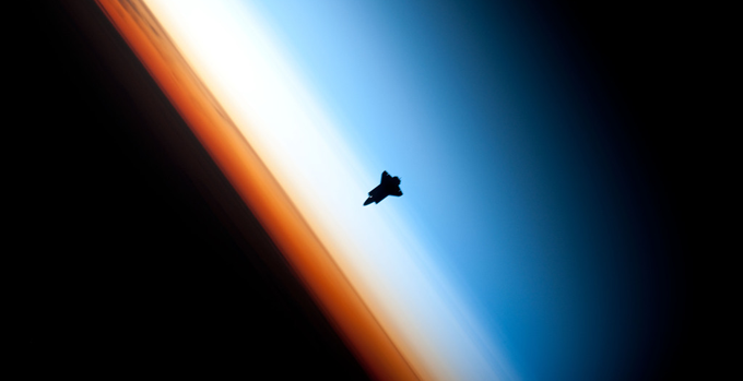 Endeavour silhouette