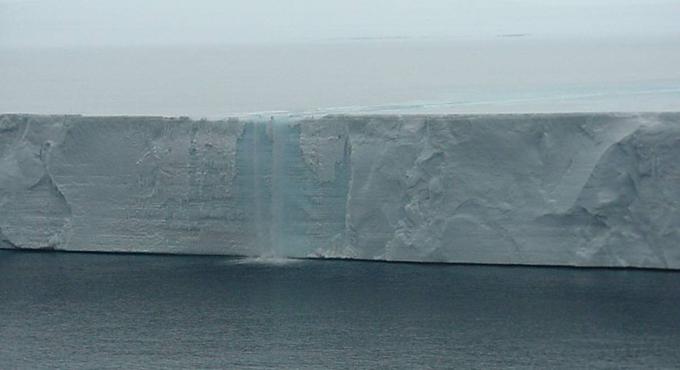 Larsen B ledeni front