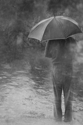 It doesn't only rain when you're sad - by Marusska http://bit.ly/1q0qWJM