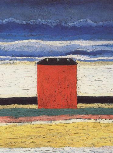 Kazimir Maljević, Crvena kuća, 1932 http://bit.ly/1makC6M