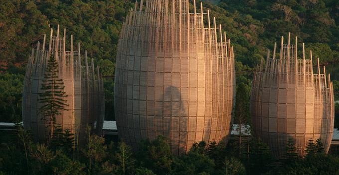 Kulturni centar, Nova Kaledonija © Giraud-Langevin/Sygma/Corbis http://bit.ly/1r8qK04