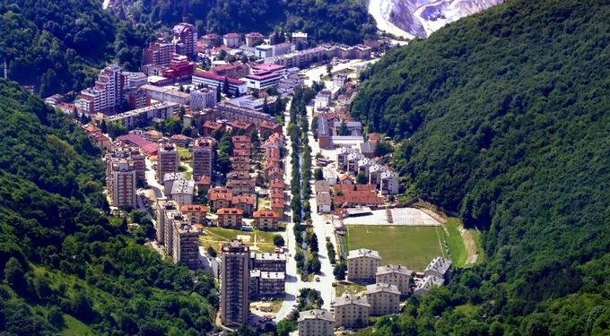 panoramska fotografija Majdanpeka