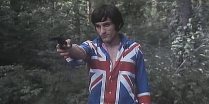 Dragan Nikolić, scena iz filma Mlad i zdrav kao ruža, 1971, film Jovana Jovanovića