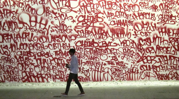 Barry McGee Hits Houston Street
