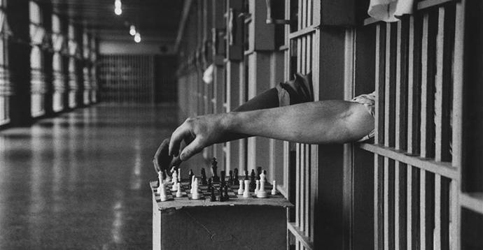 Correctional Facility, Attica, New York, 1972. Photographer: Cornell Capa http://goo.gl/Wfrc6w