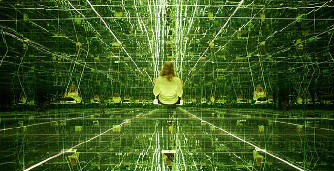 Infinity, Thilo Frank's mirrored room